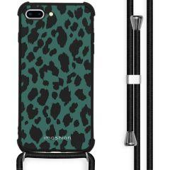 iMoshion Design hoesje met koord iPhone 8 Plus / 7 Plus - Luipaard