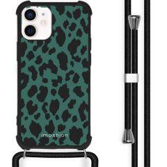 iMoshion Design hoesje met koord iPhone 12 Mini - Luipaard