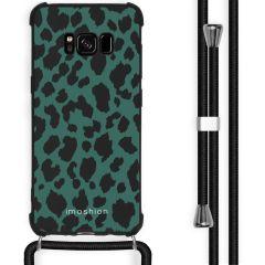 iMoshion Design hoesje met koord Samsung Galaxy S8 - Luipaard - Groen