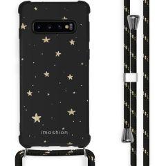 iMoshion Design hoesje met koord Samsung Galaxy S10 Plus - Sterren