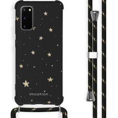 iMoshion Design hoesje met koord Samsung Galaxy S20 Plus - Sterren