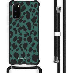 iMoshion Design hoesje met koord Samsung Galaxy S20 - Luipaard