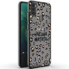 iMoshion Design hoesje Galaxy M11 / A11 - Luipaard - Bruin / Zwart