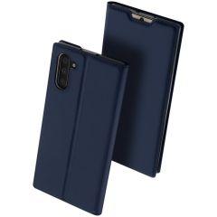 Dux Ducis Slim Softcase Booktype Xiaomi Mi Note 10 (Pro) - Donkerblauw