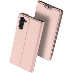 Dux Ducis Slim Softcase Booktype Xiaomi Mi Note 10 (Pro) - Rosé Goud