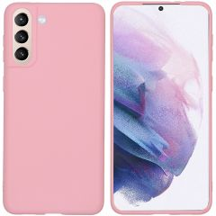 iMoshion Color Backcover Samsung Galaxy S21 Plus - Roze
