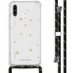 iMoshion Design hoesje met koord Huawei P30 Lite - Sterren