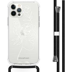 iMoshion Design hoesje met koord iPhone 12 (Pro)