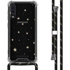 iMoshion Design hoesje met koord Samsung Galaxy A50 - Sterren