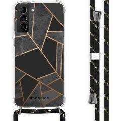iMoshion Design hoesje met koord Galaxy S21 Plus - Grafisch Koper
