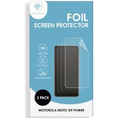 iMoshion Screenprotector Folie 3 pack Motorola Moto G9 Power