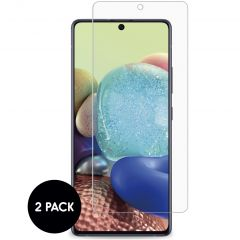 iMoshion Screenprotector Gehard Glas 2 pack Samsung Galaxy A72