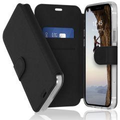 Accezz Xtreme Wallet Booktype iPhone 12 (Pro) - Zwart