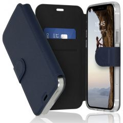 Accezz Xtreme Wallet Booktype iPhone 12 (Pro) - Donkerblauw