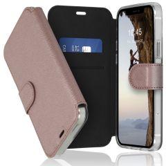 Accezz Xtreme Wallet Booktype iPhone 12 (Pro) - Rosé Goud