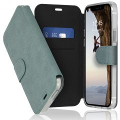 Accezz Xtreme Wallet Booktype iPhone 12 (Pro) - Lichtblauw