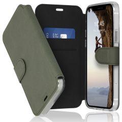 Accezz Xtreme Wallet Booktype iPhone 12 (Pro) - Lichtgroen