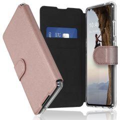 Accezz Xtreme Wallet Booktype Samsung Galaxy S20 FE - Rosé Goud