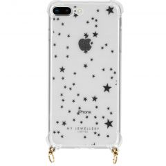 My Jewellery Design Softcase Koordhoesje iPhone 8 Plus / 7 Plus - Stars
