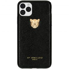 My Jewellery Tiger Softcase Backcover iPhone 11 Pro Max - Zwart