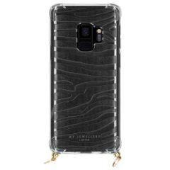 My Jewellery Design Softcase Koordhoesje Samsung Galaxy S9 - Zebra