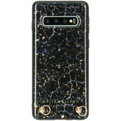 My Jewellery Marmer Hardcase Koordhoesje Samsung Galaxy S10 - Blue Marble