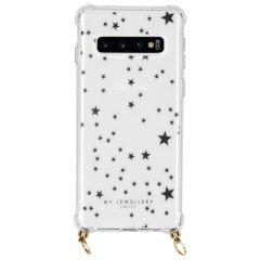 My Jewellery Design Softcase Koordhoesje Samsung Galaxy S10 - Stars
