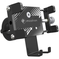 iMoshion Universele aluminium telefoonhouder fiets - Zwart