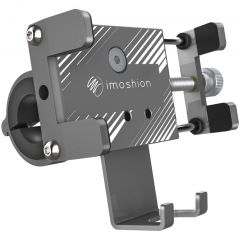 iMoshion Universele aluminium telefoonhouder fiets - Grijs