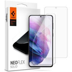 Spigen Neo Flex Solid Screenprotector Duo Pack Galaxy S21