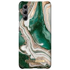 iDeal of Sweden Fashion Backcover Samsung Galaxy S21 - Golden Jade Marble