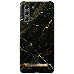 iDeal of Sweden Fashion Backcover Samsung Galaxy S21 - Port Laurent Marble