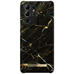 iDeal of Sweden Fashion Backcover Galaxy S21 Ultra - Port Laurent Marble