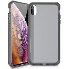 Itskins Supreme Frost Backcover iPhone Xr - Zwart / Grijs