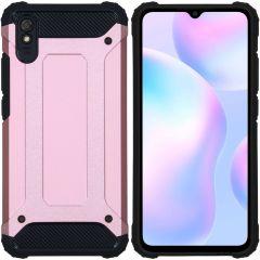 iMoshion Rugged Xtreme Backcover Xiaomi Redmi 9A - Rosé Goud