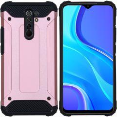 iMoshion Rugged Xtreme Backcover Xiaomi Redmi 9 - Rosé Goud