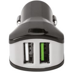 Celly Dual USB Car Charger - 3,4A - Zwart