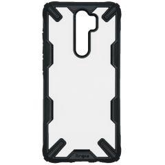 Ringke Fusion X Backcover Xiaomi Redmi Note 8 Pro - Zwart