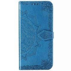 Mandala Booktype Xiaomi Redmi Note 8 Pro - Turquoise