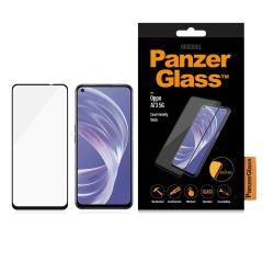 PanzerGlass Case Friendly Screenprotector Oppo A73 (5G) - Zwart