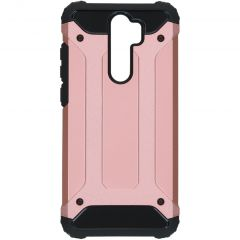 iMoshion Rugged Xtreme Backcover Xiaomi Redmi Note 8 Pro - Rosé Goud