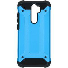 iMoshion Rugged Xtreme Backcover Xiaomi Redmi Note 8 Pro - Lichtblauw