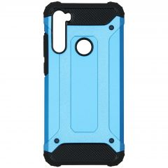 iMoshion Rugged Xtreme Backcover Xiaomi Redmi Note 8T - Lichtblauw