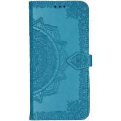 Mandala Booktype Xiaomi Redmi Note 8T - Turquoise