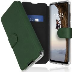 Accezz Xtreme Wallet Booktype Huawei P30 Lite - Donkergroen
