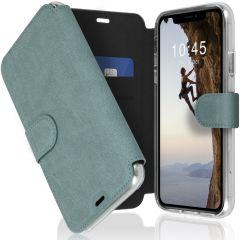 Accezz Xtreme Wallet Booktype iPhone 11 - Lichtblauw