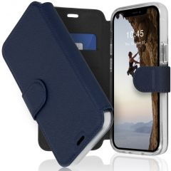 Accezz Xtreme Wallet Booktype iPhone 12 Mini - Donkerblauw