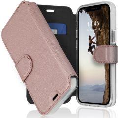 Accezz Xtreme Wallet Booktype iPhone 12 Mini - Rosé Goud
