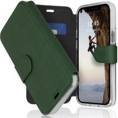 Accezz Xtreme Wallet Booktype iPhone 12 Mini - Donkergroen