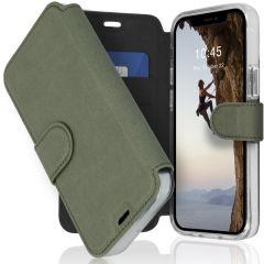 Accezz Xtreme Wallet Booktype iPhone 12 Mini - Lichtgroen